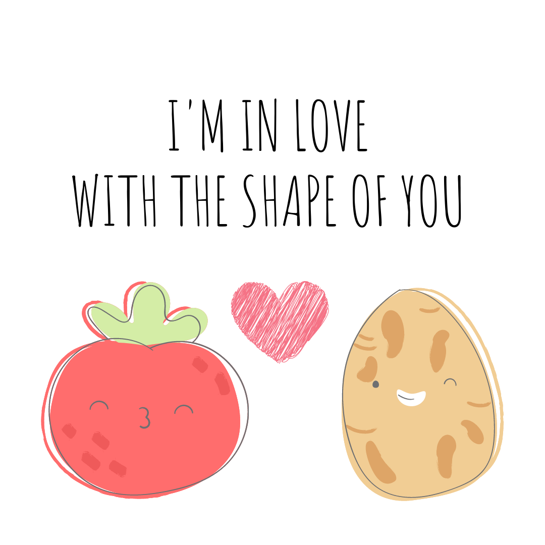 PDA Series: I'm in Love with the Shape of You